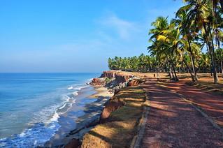 India - Kerala - Varkala - Coastline - 81