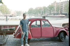 Dave Zav in Amsterdam May 1997 (dave_zav) Tags: amsterdam davezav