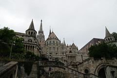 Fisherman's Bastion (endors toi) Tags: travel detail building lines architecture contrast hungary budapest explore fishermans bastion