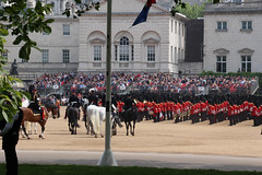Horse Guards View from the back (NTG's pictures) Tags: the major generals review rehearsal for trooping colour british army household division cavalry blues royals lifeguards london mall