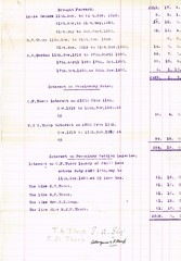 Detailed Accounts of the Estate of Reverend William Tudor Thorp, 1841-1919 total 35, 626 13s 6d. Includes names of people to whom payments due, Income etc. p15 (North West Kent Family History Society) Tags: christchurch london silver born major married wwi property son alnwick northumberland somersethouse captain division 1890 1920 lancastergate died 1917 royalengineers 1863 1884 granted 1879 dispute 1869 1866 1896 1882 1881 1864 creditors debts killedinaction sarahgraham chathill williamrobson thomasthorp funeralexpenses 11thnovember1919 13thapril1918 ecbdcollection estateduty charltonhall narrowgatehse 2nddecember1919 1841alnwick elizabethjanetudor emilysarahwest 24thoctober1871 marialouisajones 16thjune1875 elisabeththorp thomasalderthorp richardfenwickthorp williamtudorsaycethorp1876 robertoakleyvavasourthorp1877 collingwoodforsterthorp beatricejanefenwickthorp reginaldpearcethorp williamedwardlong claimsforduty estatedutyoffice haroldtragettthorp maudelizabethstaffordsanderson laurenceelliotbooth wallaceernestbritten 1stjune1921 janeelizabeththrorp