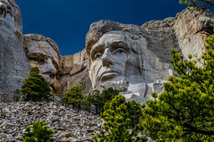 Teddy and Abe--DSC0069--Mount Rushmore, South Dakota (Lance & Cromwell back from a Road Trip) Tags: southdakota sony roadtrip nationalparkservice mountrushmore rocksculpture 2016 sonyalpha mountrushmoresd
