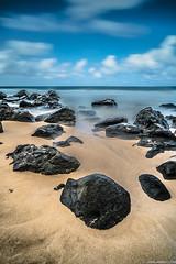 Haena Beach | Kauai, Hawaii (jamilabbasy) Tags: haenastatepark hi kauai beach lavarock hawaii haenabeach haena