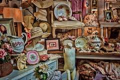 DSC_1038_343_2048p (RVDigitalBoy) Tags: hats antiques bowls pitcher cluttered