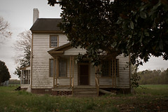 bashful (History Rambler) Tags: old house abandoned home rural south northcarolina forgotten magnolia lonely antebellum