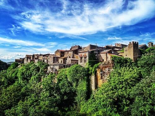 #barbaranoromano #borgo #italia #italy #village #sonyhx60 #vt #lazio