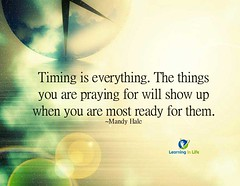 Timing Is Everything (learninginlife) Tags: praying ready everything timing