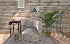 Everything Old Is New Again (satorimarat) Tags: vintage furniture fair secondlife decorating decor furnishings chimia