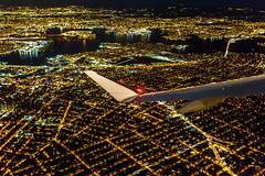 The ascent (Arutemu) Tags: city nyc newyorkcity urban usa ny newyork night america plane canon airplane us flying lowlight cityscape nightscape nightshot unitedstates aircraft flight sigma ciudad wideangle nighttime american citylights airborne    airtravel nuevayork  6d              eos6d     canon6d
