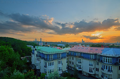 (lhemund) Tags: city sunset sky landscape nikon cityscape view russia outdoor moscow tag tamron moscowcity sunsetsky mycity         d7k  d7000