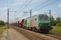 BB 75446 train 74484 Hourcade-Thiviers (Sebastien Bagat) Tags: fret infra sncf bb75000 bb75446