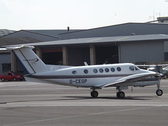 G-CEGP Beech Super King Air 200 IAS Medical Ltd (Aircaft @ Gloucestershire Airport By James) Tags: james airport king air super gloucestershire medical 200 ltd beech lloyds ias egbj gcegp
