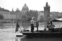 Prague - Vltava river (Jos MF Azevedo) Tags: republica rio river boat barco republic czech prague little marin prince praga bj te sailor bateau vltava antoine petit saintexupry checa principezinho moldava marinheiro