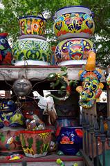 Colorful Barberville Pottery 1 (jameskirchner15) Tags: color colorful florida market pots pottery designs barberville thesunshinestate barbervilleproduce