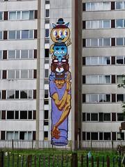 Bu & A Squid Called Sebastian / Nieuw Gent - 26 mei 2016 (Ferdinand 'Ferre' Feys) Tags: streetart graffiti belgium belgique bue belgi urbanart graff ghent gent gand graffitiart artdelarue bu urbanarte buthewarrior
