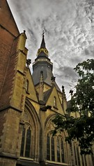 Church (Mado AwaD) Tags: sky cloud building church colors skyline architecture season ma belgium belgie outdoor july rainy kerk mado 2016 wenter