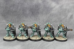 SoH Breachers 04 (Celsork) Tags: horus warhammer 30k troop legion soh legionary sonsofhorus breachers horusheresy celsork celsomendez