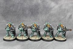 SoH Breachers 04 (Celsork) Tags: horus warhammer 30k troop legion soh legionary sonsofhorus breachers horusheresy celsork celsomendez