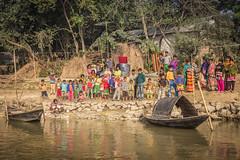 Shantipur - the weavers of fine Bengal cotton (Maria Dashkevich) Tags: cruise india kolkata ganga westbengal northeastindia hoogli