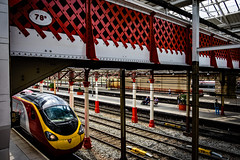 Bridge 78B (Peter Leigh50) Tags: station footbridge crewe lattice rivit lnwr pendalino