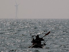 Holy mackerel (billnbenj) Tags: mackerel fishing canoe cumbria barrow irishsea walneyisland earnsebay