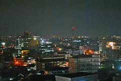 Cakrawala Jalan Asia-Afrika (BxHxTxCx) Tags: city skyline nightshoot bandung kota cakrawala fotomalam