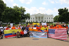 #TPS4Ecuador White House Rally