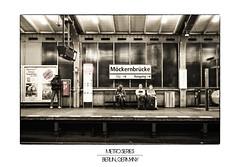 Berlin Metro Series, Berlin, Germany (german_long) Tags: germany subway metro subte alemania