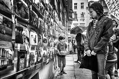 picture wall (o_teuerle) Tags: picturewall blackwhite nikon bw sw street junge child boy people candid streetportrait dresden sachsen saxony brn bunterepublikneustadt explore