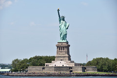 Picture Taken From The Staten Island Ferry Of The Statue Of Liberty. Photo Taken Monday June 27, 2016 (ses7) Tags: ferry liberty island staten of viewstatue