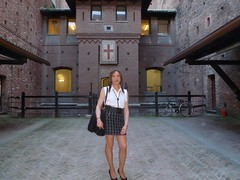 Milan - Castello Sforzesco (Alessia Cross) Tags: tgirl transgender transvestite crossdresser travestito