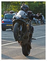 Stunter (The Landscape Motorcyclist) Tags: stunter loony gixxer suzuki wheelie nohands nikon df 80200 f28 nutter poser gopro sunspots rozzers