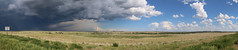 Storm's coming (www.JnyAroundTheWorld.com - Pictures & Travels) Tags: sky usa storm nature weather clouds canon landscape outdoors wyoming greatplains tatsunis grandesplaines
