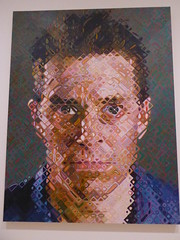 Chuck Close - James (c_nilsen) Tags: sanfrancisco california portrait art museum digital painting sfmoma chuckclose digitalphoto sanfranciscomuseumofmodernart