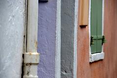 (Jean-Luc Lopoldi) Tags: wall paint couleurs maisons peinture shutter mur bandes sud vieilleville volet