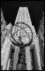Atlas at Rockefeller Center (Nikon66) Tags: newyorkcity newyork nikon rockefellercenter atlas manhatten d800
