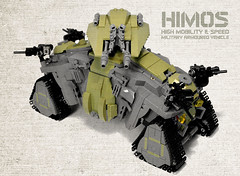 IFV HIMOS main view (Veeborg) Tags: lego vehicle armoured ifv foitsop
