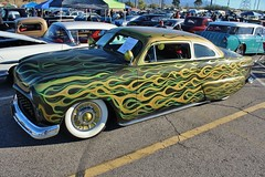 Mooneyes X-Mas Party 2015 (USautos98) Tags: ford hotrod shoebox streetrod 1951 kustom leadsled