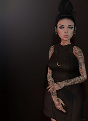 Corridors (Anika ) Tags: tattoo ink mom found lost little avatar blogger sl just secondlife una bones re prodigy unisex magnetized cae littlebones 7p aitui catwa deetalez collab88