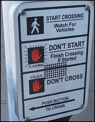 ODC walk sign (FolsomNatural) Tags: traffic crosswalk signal odc dailychallengewalksign