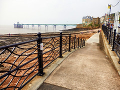 Clevedon Pier, Somerset (photphobia) Tags: uk building water architecture buildings river outdoor somerset estuary riversevern clevedon clevedonpier oldwivestale buildingsarebeautiful