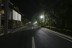 Midnight Street (sim_limited) Tags: street streetlight backstreet koyasan midnight nightview worldheritage pentaxlife pentaxart danjyogaran