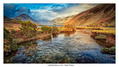 Wast Water | Lake District National Park | UK (Phil Durkin) Tags: uk england mountain mountains clouds river rocks waves lakes lakedistrict cumbria scree bracken cloudscape wastwater