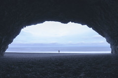 The Cave (MatLegault) Tags: ocean iceland artistic shore cave