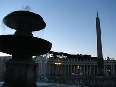 Fontaine sud (Scratina) Tags: vatican rome architecture fontaine placestpierre obélisque