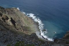 DSC_0087 (AlfredoGutirrez) Tags: blue sea naturaleza mountain nature azul trekking mar paisaje tenerife montaa senderismo naturalpark parquenatural anaga roquesdeanaga