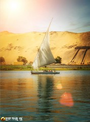 The Beauty Of #Nature Faluca in The #Nile #Aswan (EGYPT.Travel.Ads) Tags: travel nature beauty ads egypt nile aswan wwwegypttraveladsnet