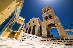 Othos Karpathos (forceberg) Tags: blue church yellow stone island greek nikon angle wide sigma dry full greece frame dslr ultra karpathos 2016 d600 hsm othos 1224ii forceberg