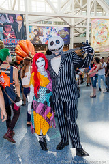 AX2016_0074 (photo-esq) Tags: animeexpo2016 ax2016 cosplay losangeles nightmarebeforechristmas jack sally