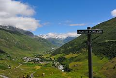 James Bond street - Furkapass (Luigi Basilico) Tags: cinema james switzerland landscapes swiss route bond goldfinger furka furkapass